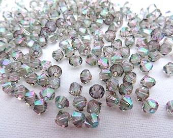 48 Paradise Shine Swarovski Crystal Beads Bicone 5328 4mm