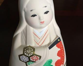 Hakata Ningyo, young girl.