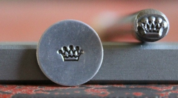 Crown Metal Design Stamp Metal Stamp Metal Stamping and