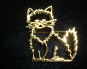 Cat Kitten Pin Brooch Pendant Jewelry