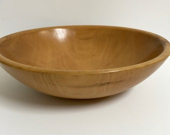 Vintage Wooden Bowl; Large Wood Bowl;Munising Style wood bowl; Vintage Kitchen