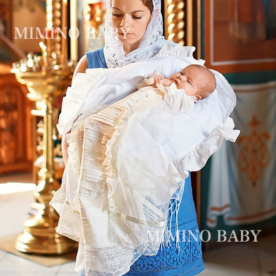 HEIRLOOM christening gown baptism gown boy baptism outfit