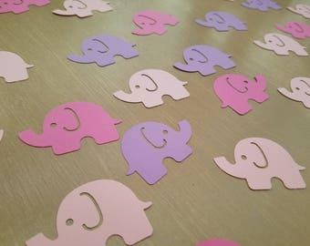 Pastel Elephant Confetti