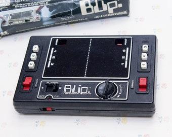 70 s vintage Blip jeu numérique, Tomy jeu pour lui, jeux Vintage pour les garçons, Vintage Pong jeu vidéo Gamer cadeau pour enfant, Tomy jouets jouet ordinateur de poche