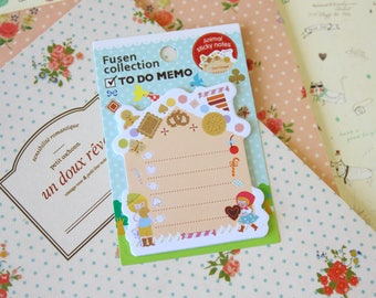 Candy House Fusen Collection To Do Memo sticker notes