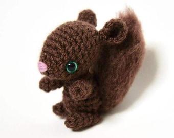 Amigurumi Crochet Squirrel Pattern