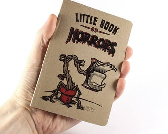 "Small Notebook ""Little Book of Horrors"""