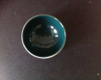 Denby Jam or Preserve Pot or Dish - GREENWHEAT 1950s signed  A College