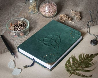 Triquetra sketchbook, spellbook, book of shadows, witchcraft, wicca, pagan, magic