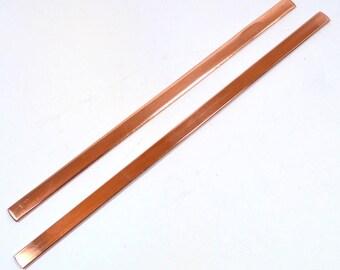 "1/4"" Copper Bracelet Blanks - Choose Your Length"