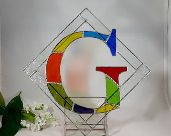 Stained Glass Initial Letter G