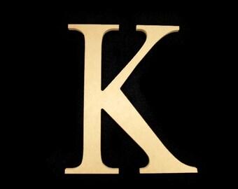 "16"" Unpainted Wooden Greek Letters, Chi, Pi, Kappa, Mu, Nu, Omega, Zeta 16GK50     -4  127"