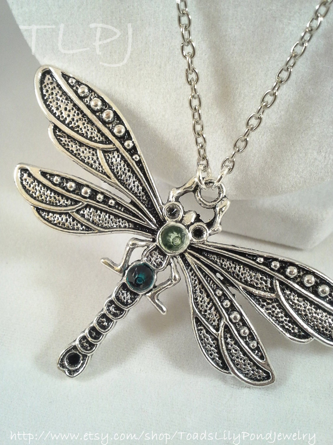 color for silver from lucky item big dragonfly jewelry women and pendants pattern in necklace luxury plating pendant mosaic long crystal vintage
