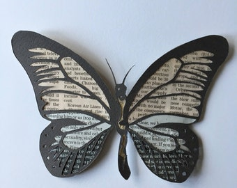 Papercut handmade butterfly