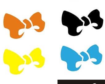 Roller Derby Helmet Decal Bows Cute Girl Power 3 sizes to choose from