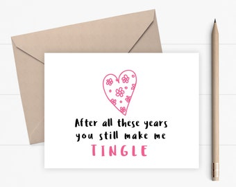 Valentines Day Card for boyfriend girlfriend husband wife Funny Valentine Card Love Card Anniversary Card