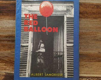 The Red Balloon, 1956, Albert Lamorisse, vintage kids book