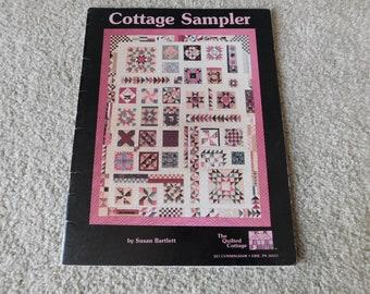 Cottage Sampler Quilt Pattern Book Susan Bartlett The Quilted Cottage 1990