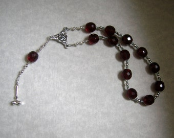 Eunomia Pocket Prayer Beads: Greek Goddess of Good and Just Laws and Order