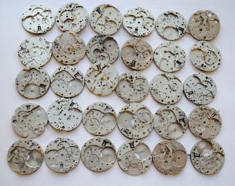 30 pcs Watch gears Steampunk Watch movements watch parts watch details steampunk movements steampunk watch vintage watch steampunk gears