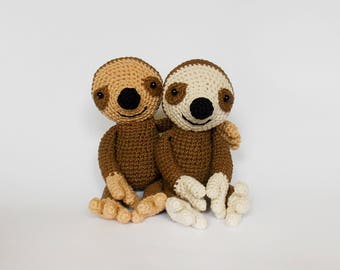 Free Amigurumi Sloth Pattern : Sloth backpack crochet pattern sloth crochet pattern sloth