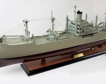 "SS American Victory - WW II Naval Cargo Ship Ready Display Model 36"""