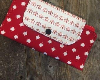 Sale/Slim line wallet, women's wallet, vegan,bifold wallet, vinyl wallet, handmade wallet,