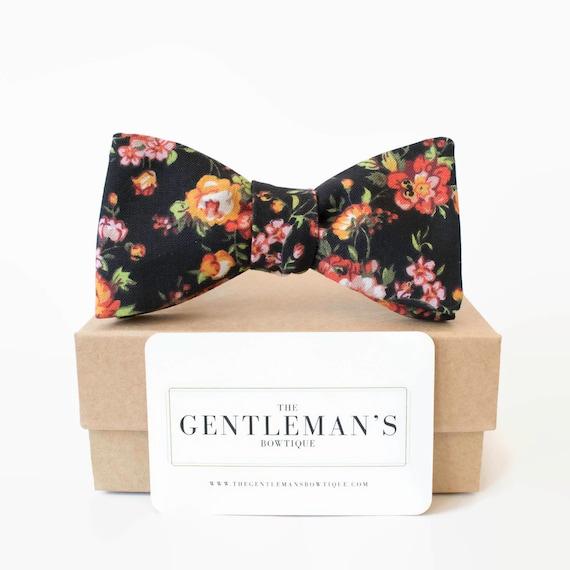 Pocket Square Set //Bow Ties For Men // Bow Tie // Secret Santa // Mens gift // Mens // Groom Gifts // Wedding // Set-Navy & White Kimono DXF7OYqCrP