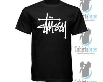 Stussy RAISED BASIC Logo T-Shirt