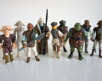 Vintage Kenner Star Wars Jabba's Palace Lot (9)