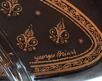 Georges Briard Divided Serving Dish - oh so retro!