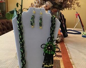 Modern hand-Woven printed pafitting Collar