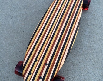 """Mini Cruiser with Various Woods - 22x7 -Old School Style- """"Coogee"""""""
