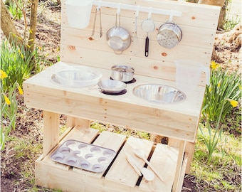 My MUD Kitchen - Children's Outdoor Wooden Play Kitchen