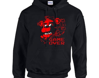 Five Nights at Freddy's Game Over Hoodie Hoody