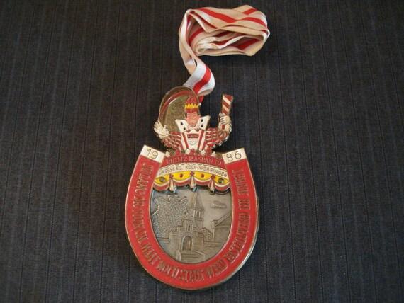 German Carnival Medal, Grosse KG, Koln-Worringen [1986]