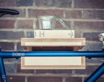 "Bicycle wall mount ""Friedrich"" Made of wood | Bikeshelf · Bikerack"