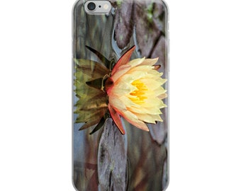 iPhone Case Flower With Reflection in the Water