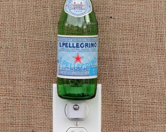 S. Pellegrino 7oz. Glass Bottle Night Light