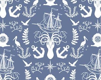 Nautical Crib Sheet Navy Baby Bedding Sets /Navy Nursery Bedding /Etsy Baby Sheet /Custom Bedding /Blue Cot Sheets /Bumperless Bedding Set