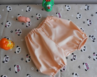 in piquet cotton bloomers size 3 months