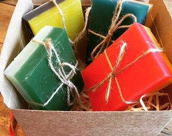 Hogwarts house soap gift box