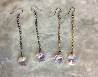 Silver / Gold Chandelier Earrings