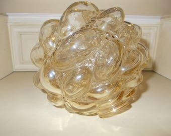 Helena Tynell Bubble Glass Lampshade, Vintage 60's