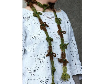 Deco scarf  - green