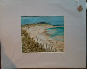 Hand Painted Beach Scape