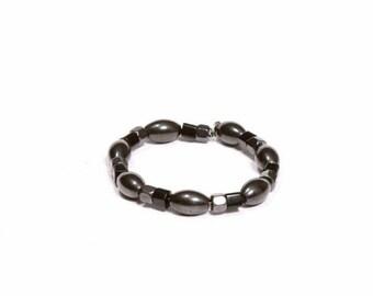 Rebelbehavior #streetwear Hematite bracelet