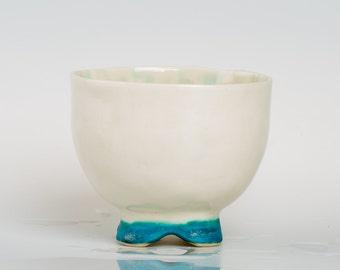 DEPSYMIA - Porcelain bowl, unique, handmade, OOAK