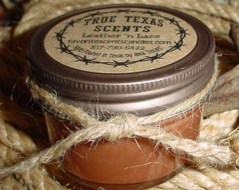 Barbwire (Woodberry scent) 4 oz Western Cowboy Mason Jars