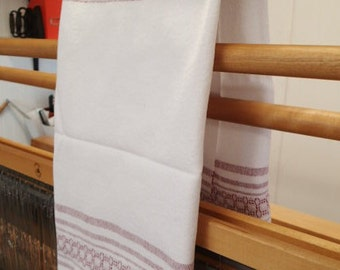 Handwoven 100% cotton towel